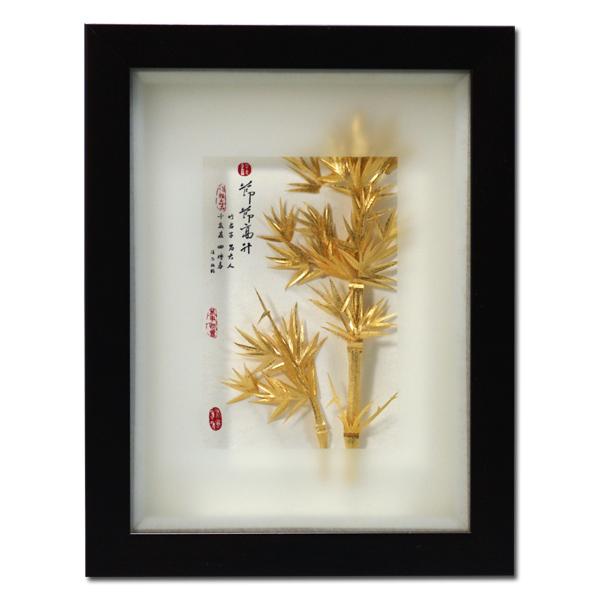 【鹿港窑】居家开运立体金箔画- 古香系列 【节节高升