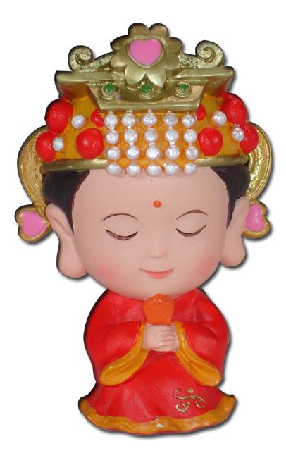 传说妈祖俗名林默(林默娘),出生於中国福建省莆田湄洲岛.